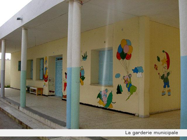 La garderie municipale